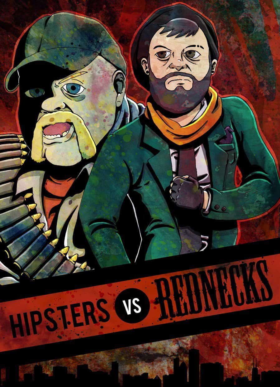 Hipsters Vs Rednecks