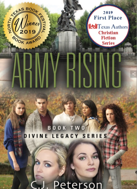 ARMY RISING (Book 2, Divine Legacy Series)